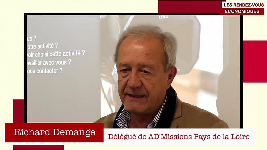 Les Rendez-vous Économiques Smartrezo : Richard Demange @cpme44 #engagement #entrepreneur